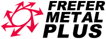 Logotipo Frefer Metal Plus
